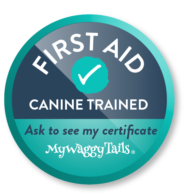mywaggytails first aid trained icon